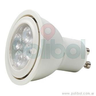Dicroica LED 4,2 W Cálido