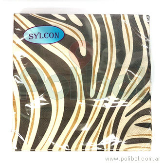 Servilleta 33 x33 Zebra