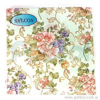 Servilleta 33 x 33 Flores