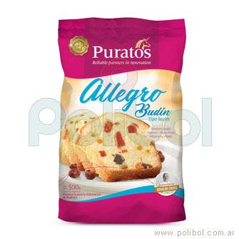 Allegro Budín Tipo Inglés