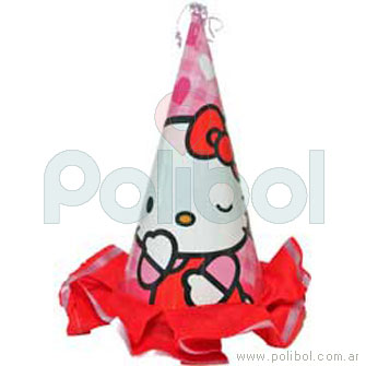 Gorro del homenajeado Hello Kitty