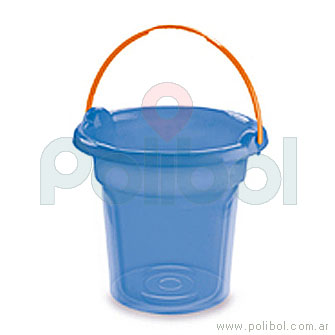 Balde plástico de 9 litros Linea Eco