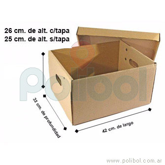 Caja archivo reforzada