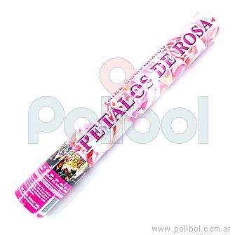 Cañon lanzapetalos de rosa