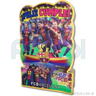 Piñata de cartón FC Barcelona