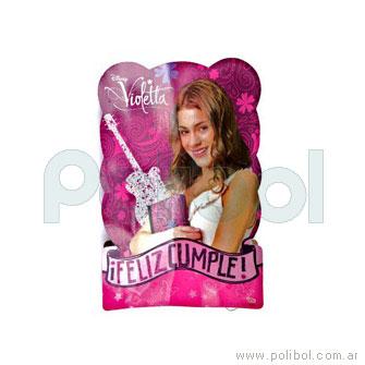 Piñata de cartón Violetta