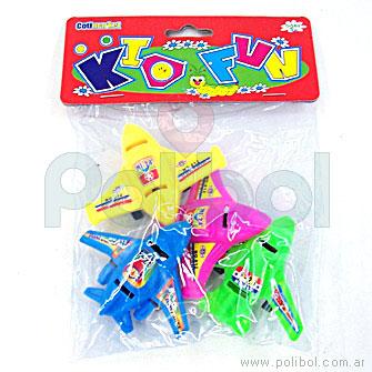 Avioncitos de juguete x4