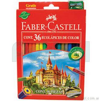 Lápices de colores largos x36