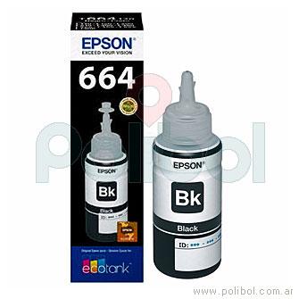 Botella de tinta 664 Negro