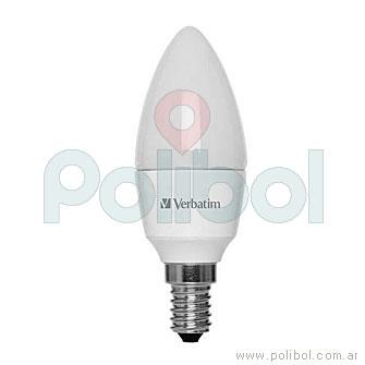 Lámpara LED vela 4,5 W Cálida