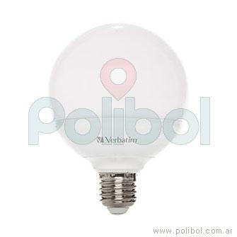 Lámpara LED globo 9,5 W Cálida