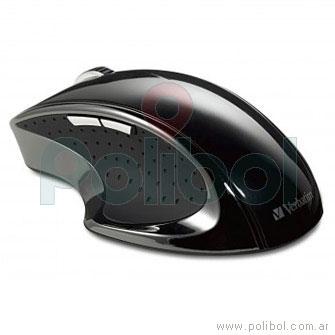 Mouse inalambrico Ergo negro