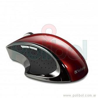 Mouse Inalambrico Ergo rojo