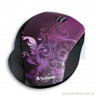 Mouse inalambrico Design Violeta
