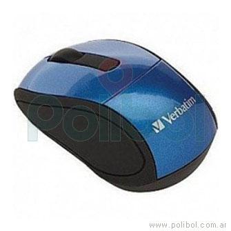Mouse inalámbrico Nano azul