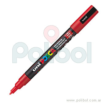 Macador PC-3M Rojo 15