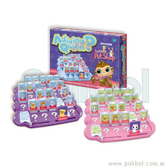Adivina quien. Littlest Pet Shop
