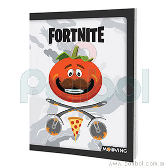 Cuaderno 16x21 Fortnite