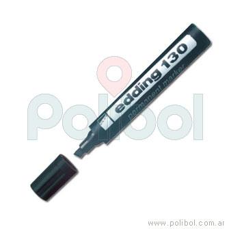 Marcador permanente negro 130