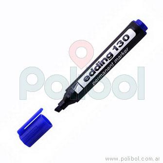 Marcador permanente azul 130