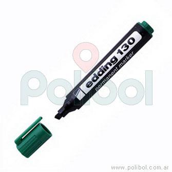 Marcador permanente verde 130