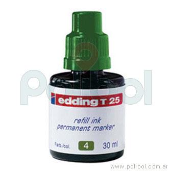 Tinta para rellenar verde T-25