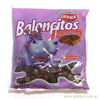 Baloncitos Chocolatados