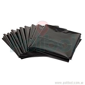 Rollo residuos negro 45x60 cm  x 30 unidades.