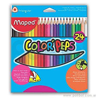 Lápices Color'Peps color x24