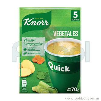 Sopa Quick de Vegetales
