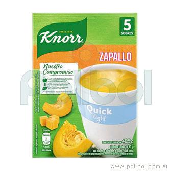 Sopa Quick de Zapallo Light