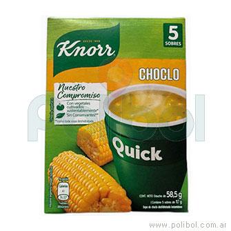 Sopa Quick de Choclo