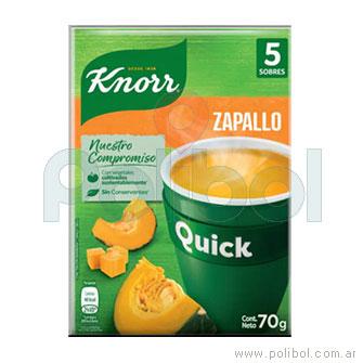 Sopa Quick de Zapallok