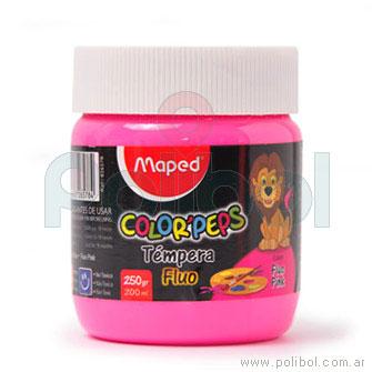 Témpera Color'Peps Pote de 250gr Rosa Fluo