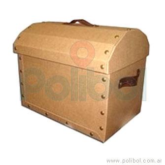 Caja cofre Kraft