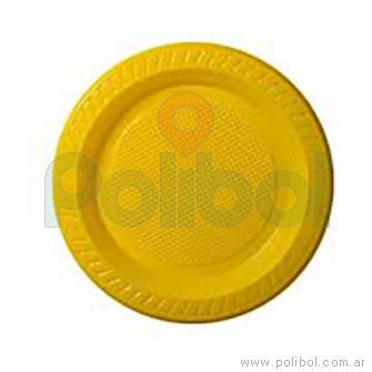 Plato amarillo