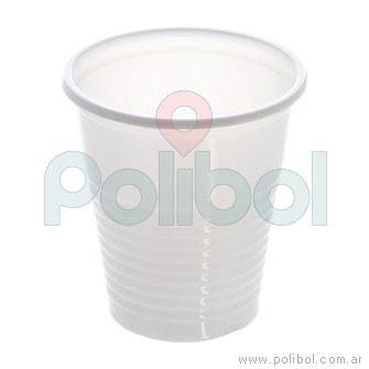 Vaso báscio blanco 80 ml.