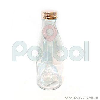 Botella lisa