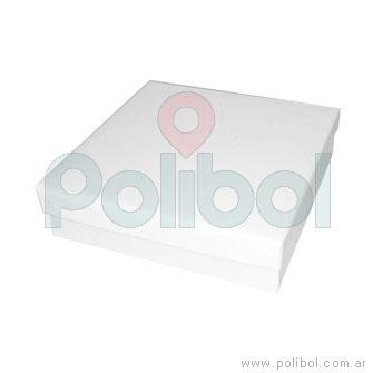 Caja para bombones blanca