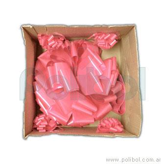 Moño para auto rosa