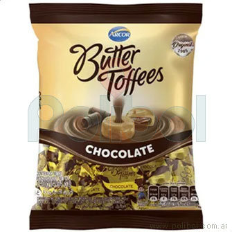 Caramelos chocolate Butter Toffee