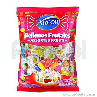 Caramelos Rellenos Frutales