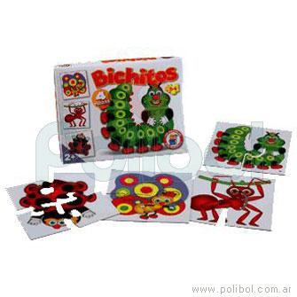 Puzzle bichitos