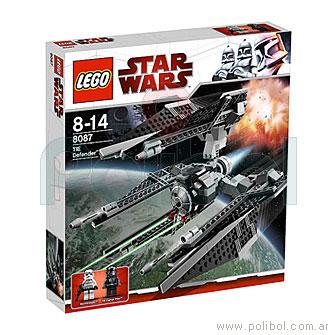 Bloques para armar de Star Wars Tie Defender 8087