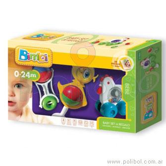 Baby set - 3 sonajeros
