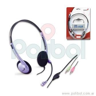 Auriculares con microfono HS-02B