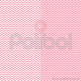 Cartulina Entretenida de zigzag rosa