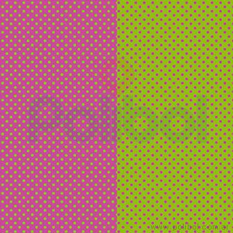 Cartulina Entretenida de verde - fucsia