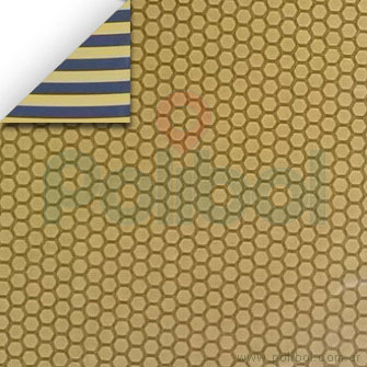 Cartulina Entretenida de panal de abejas