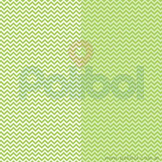 Cartulina Entretenida de zigzag verde